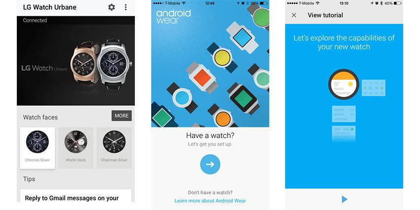 Les montres Android Wear enfin compatibles avec iOS !