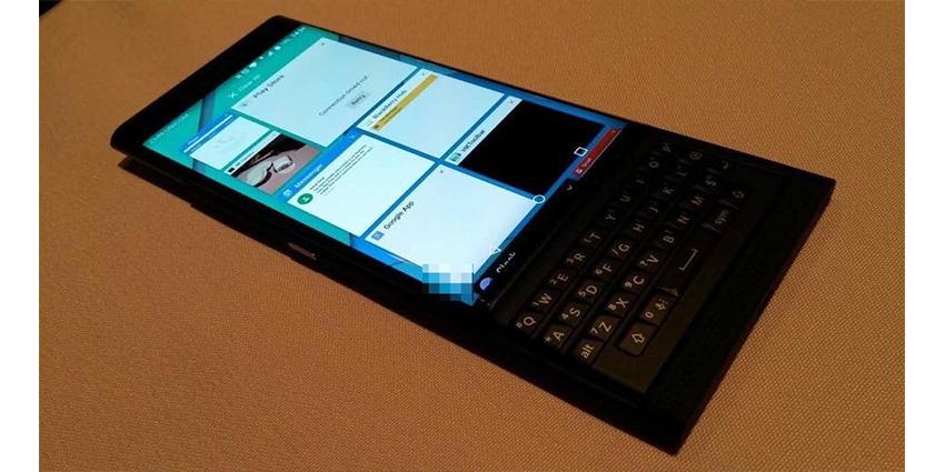 BlackBerry Venice, smartphone sous Android avec un écran/clavier coulissant !