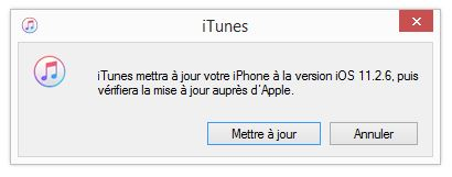 maj manuelle iphone itunes
