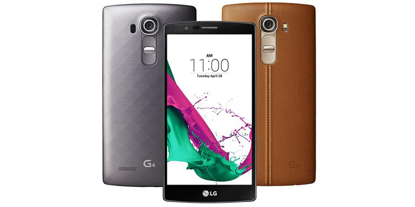 Le LG G4, le luxe avant-tout
