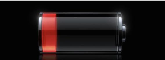 batterie déchargée