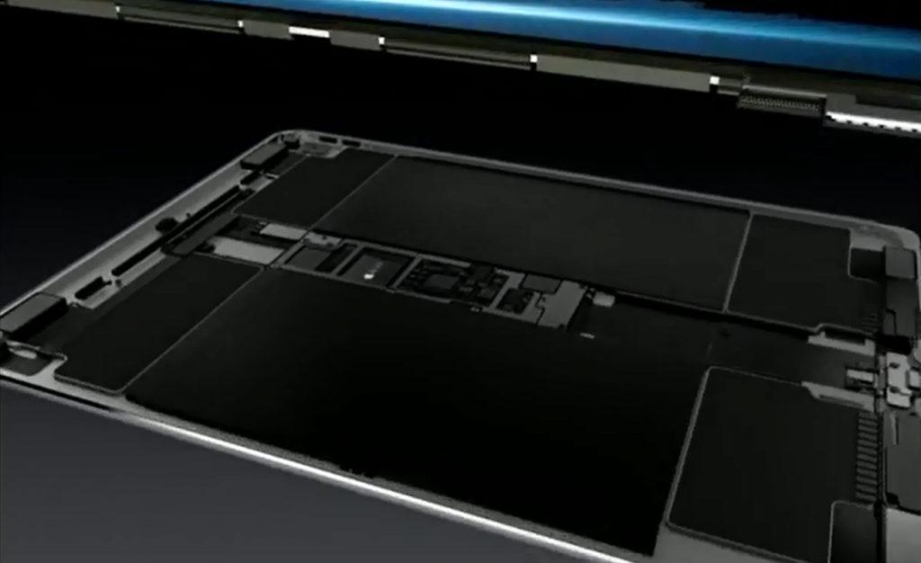 iPad Pro démonté