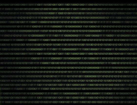 code binaire caché