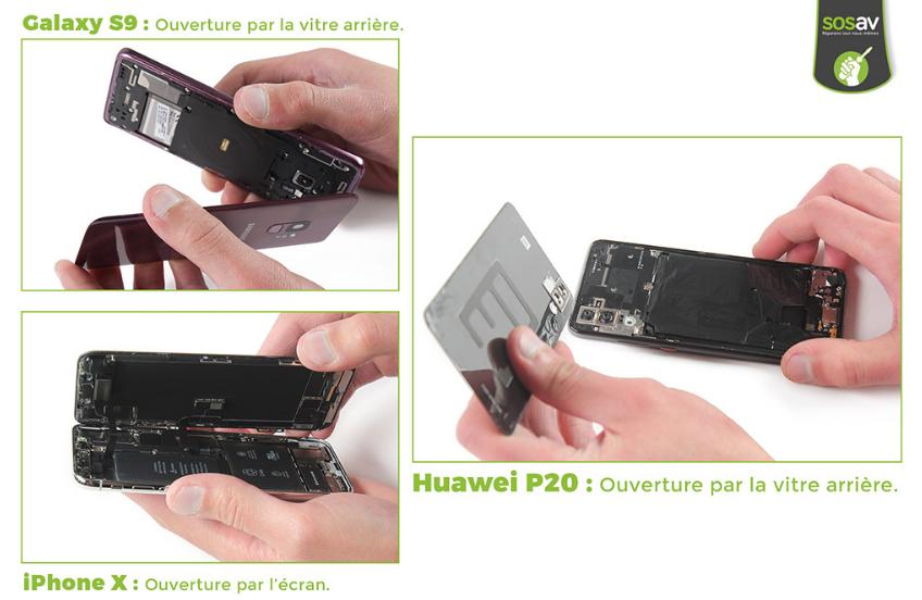 comparaison p20 iphone x et s9