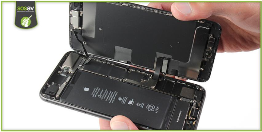 Démontage de l'iPhone 8 Plus : SOSav n'a eu aucune pitié !!