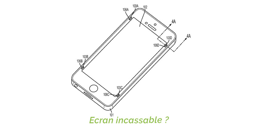ecran incassable apple