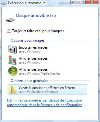 execution automatique