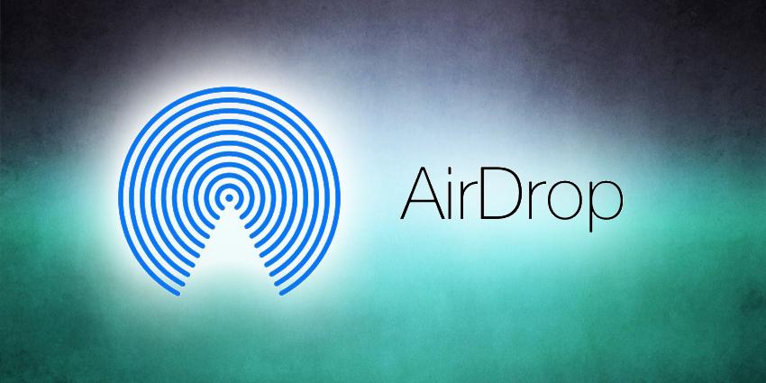 Airdrop : transfert de données entre iPhone