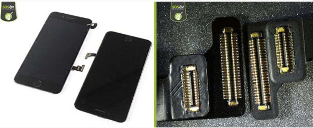 Les écrans iPhone 7 Plus et iPhone 8 Plus sont identiques !