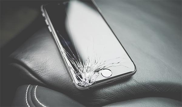 iphone écran cassé