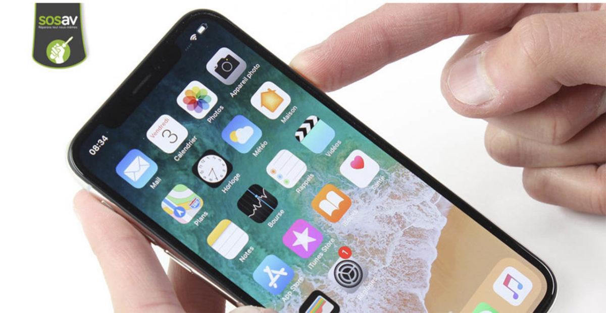 Peut-on réparer la caméra avant / Face ID iPhone X ?