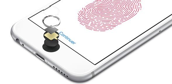 touch id erreur