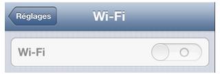 wifi grisé