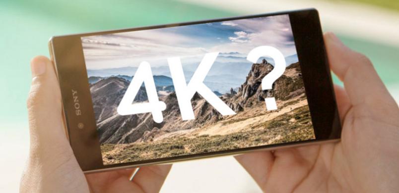 Z5 premium : un écran 4K ou pas ?