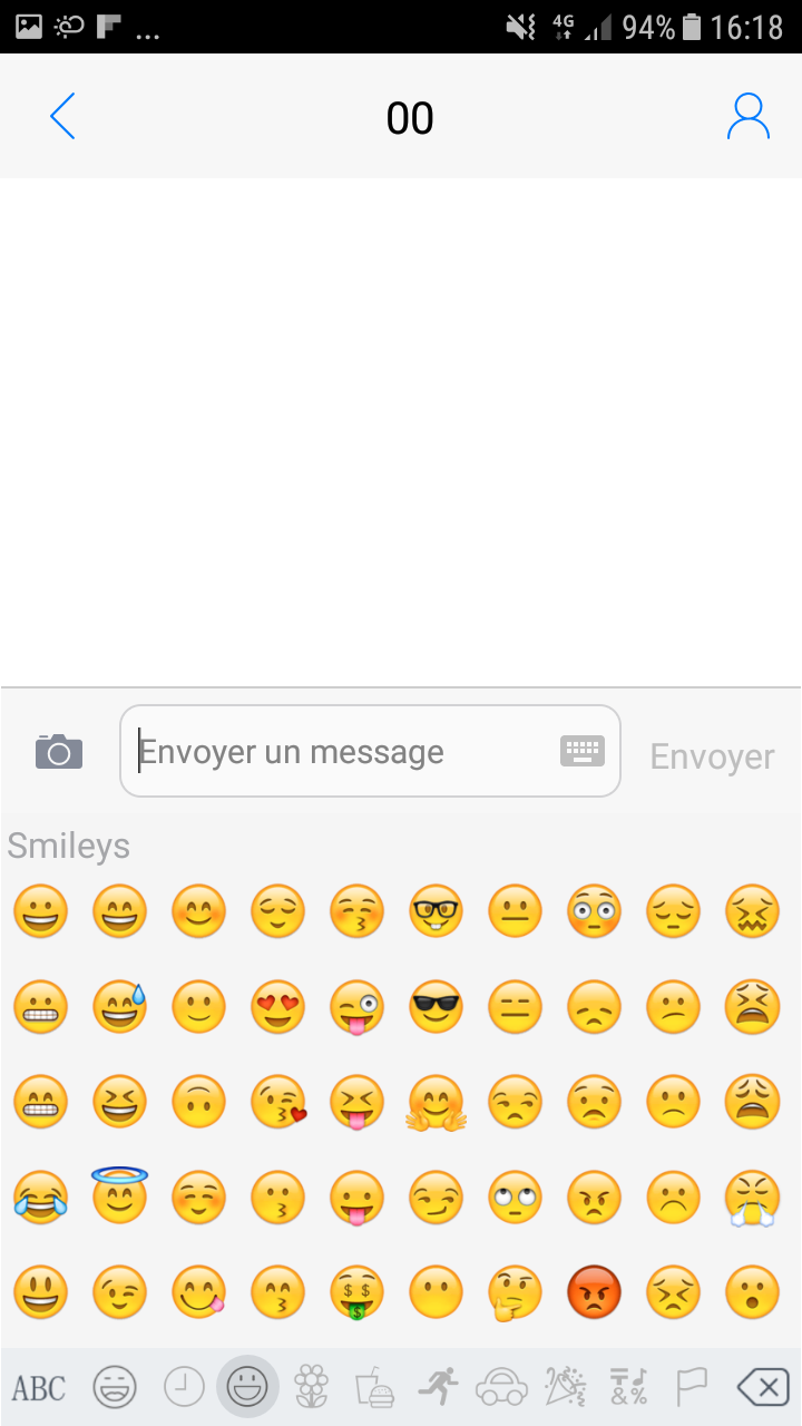 emojis sur android