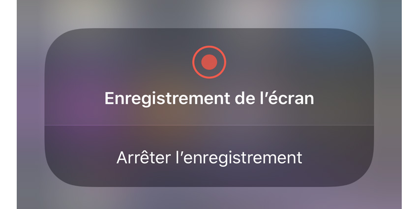 Comment enregistrer l'écran de son iPhone ?