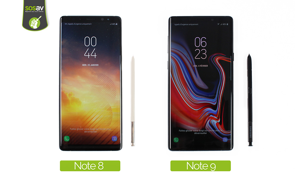 Galaxy Note 8 - Galaxy Note 9