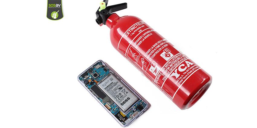 Batterie qui explose, quels risques pour mon smartphone ?
