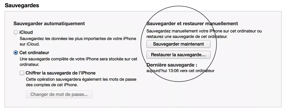Comment sauvegarder son iPhone ou iPad ?
