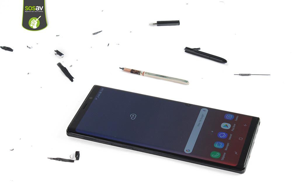 Galaxy S-Pen démontage