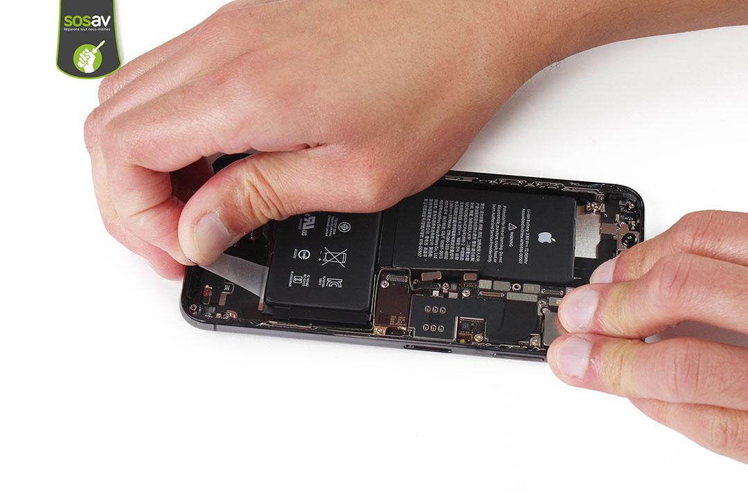 démontage batterie xsmax