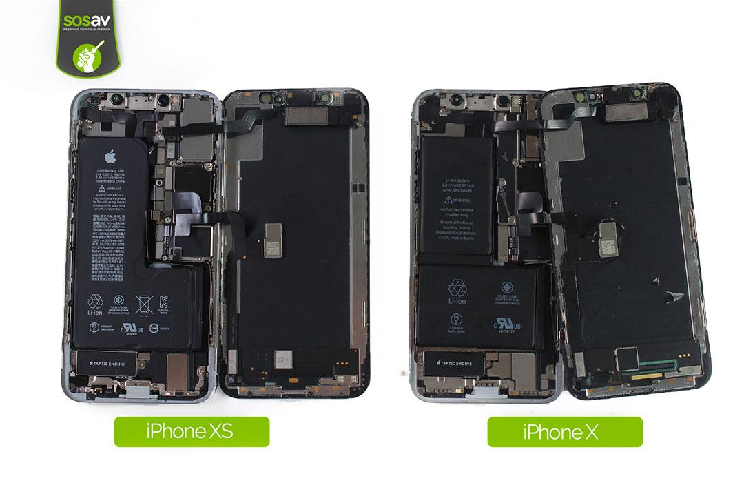 iphone Xs et X