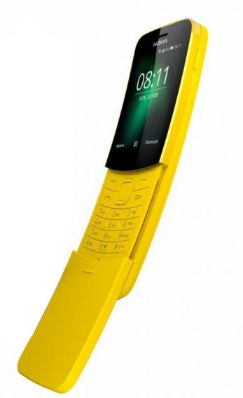 banana phone Nokia 8110 4G