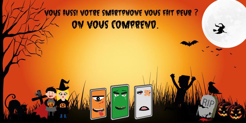 Halloween des smartphones : les téléphones les plus horribles jamais sortis !