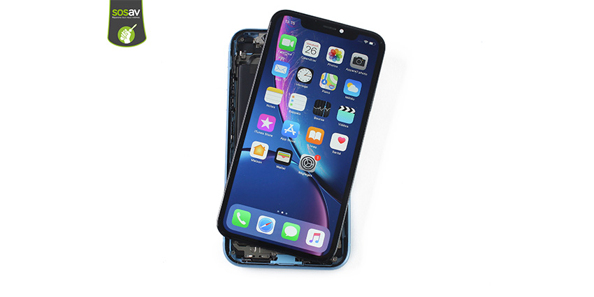 X-Files : Démontage de l'iPhone XR par SOSav