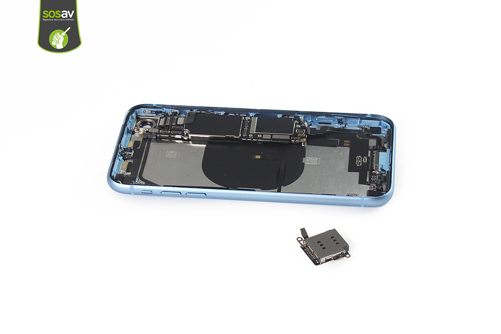 lecteur SIM iphone XR