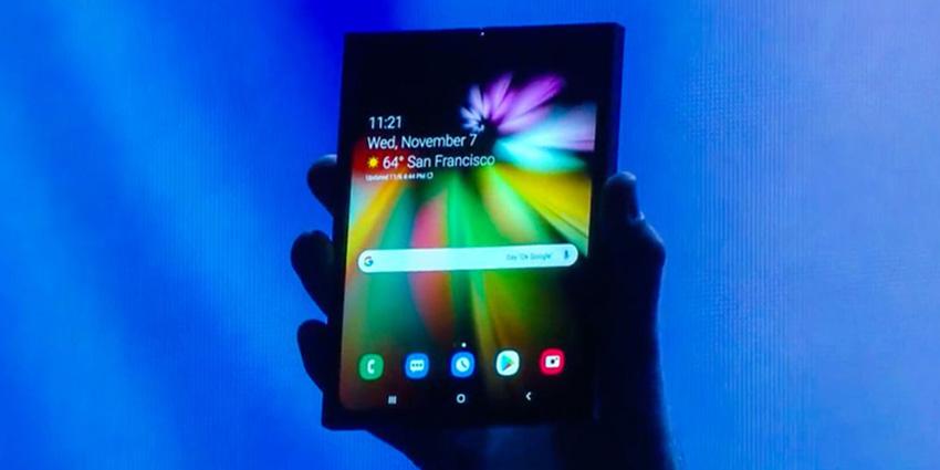 Smartphone pliable, annonce officielle de Samsung