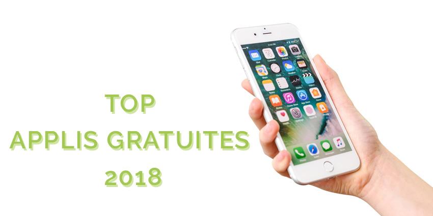 top applis 2018