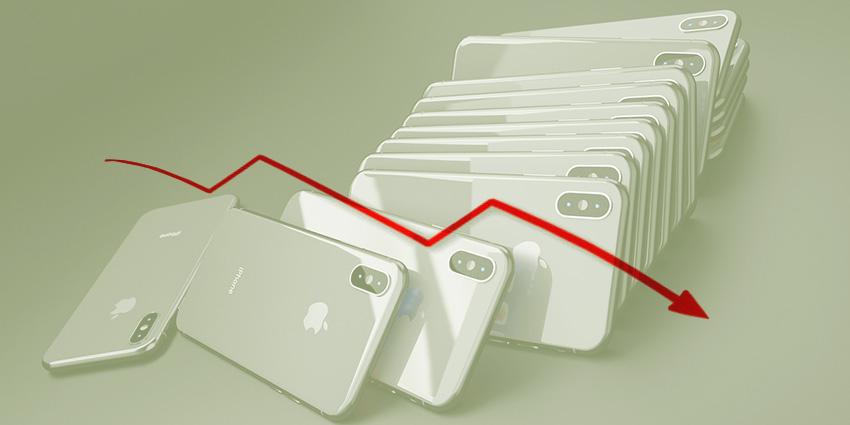Baisse des ventes iPhone fin 2018