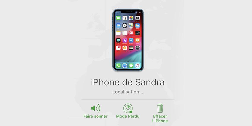 localiser un iphone en belgique