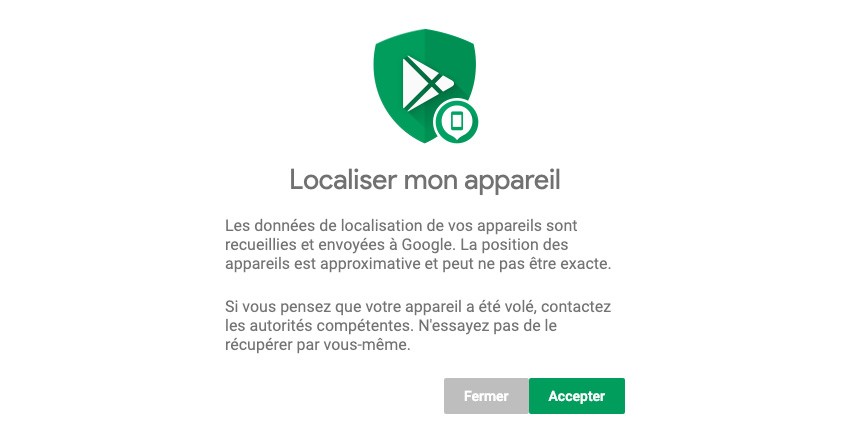 Comment localiser mon smartphone Android ?