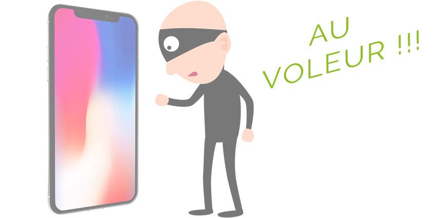 Smartphone volé ou perdu, les réflexes à avoir