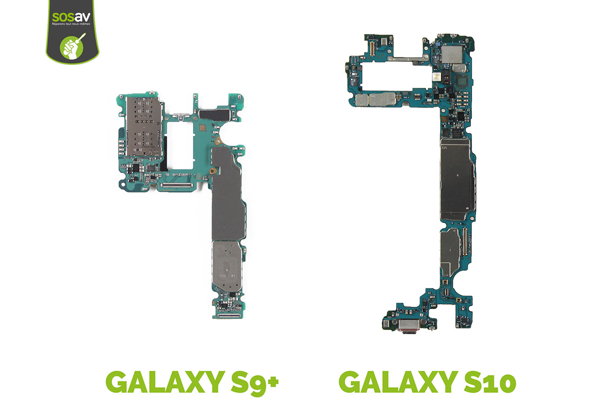 carte mère galaxy s10