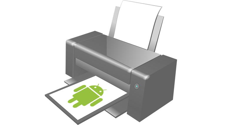 Imprimer via son smartphone Android