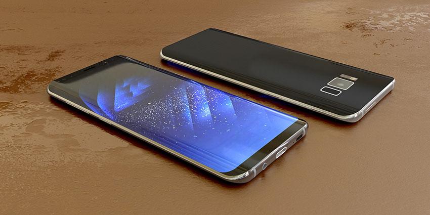 téléphone samsung s8