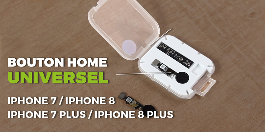 Astuces pour iPhone 7 & 8 : bouton home universel