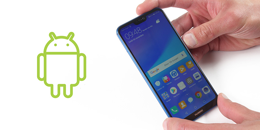 Huawei privé d'Android