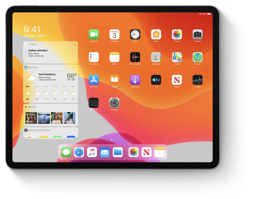 Nouvel accueil iPadOS