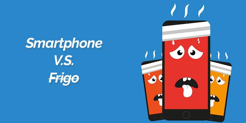 Mettre son smartphone au frigo : erreur fatale !
