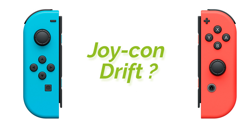 Joy-con drift : bug des joysticks sur Nintendo Switch
