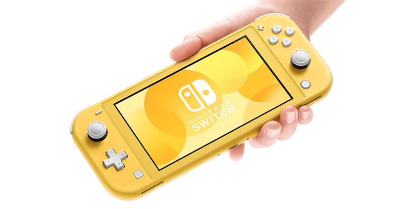 Nintendo Switch Lite, portable et allégée !