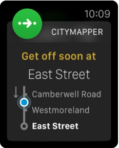 Application Citymapper