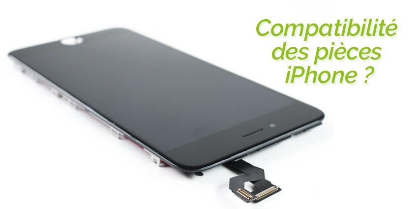 Pourquoi les pièces iPhone ne sont pas compatibles entre les différents modèles ?