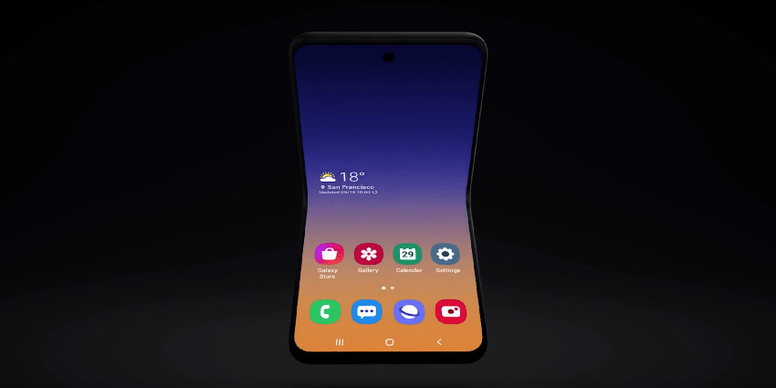Nouveau Samsung pliable, après le Galaxy Fold