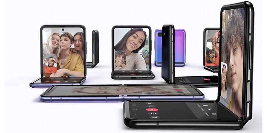 Galaxy Z Flip, Samsung poursuit avec les smartphones pliables