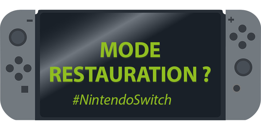 Mode recovery sur Nintendo Switch